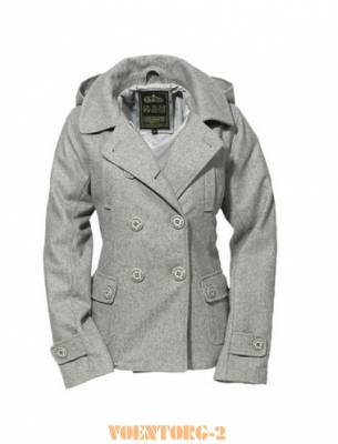 Полупальто Ladies Pea Coat | Цвет Grey