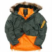 ������ ������ N-3B HUSKY | ���� OLIVE/ORANGE